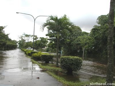 flood central roads