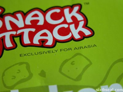 food exclusively air asia