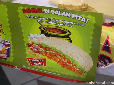 sambal di dalam pita