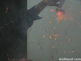 indoor firecrackers