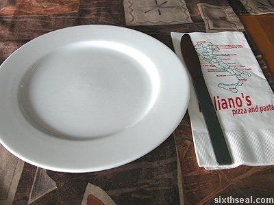 italianos napkin