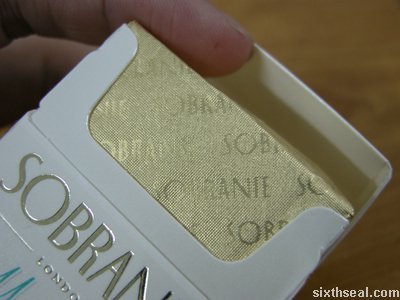 sobranie mints foil