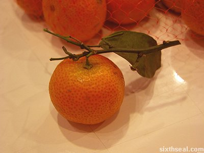tiny mandarin orange