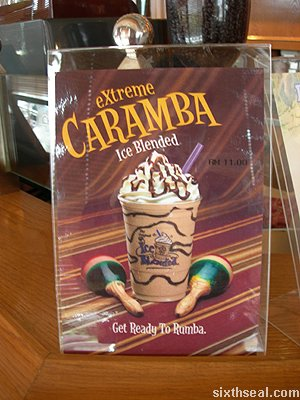 coffee bean extreme caramba