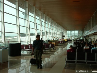 kuching international airport boarding