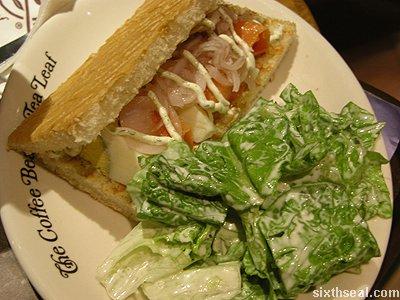 norwegian salmon sandwich