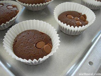 cadbury buttons muffins