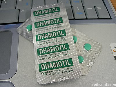 diphenoxylate dhamotil