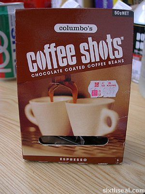 espresso coffee shots