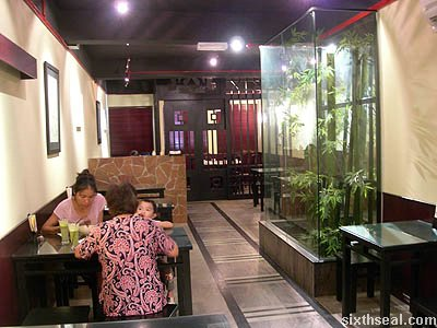li bai fusion cafe interior