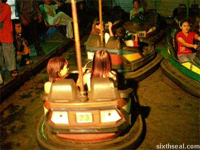 lundu funfair bumper cars pov video