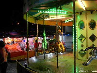 lundu funfair carousel