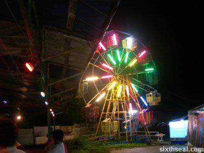 lundu funfair ferris wheel