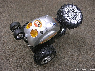 rc turbo tumbler action