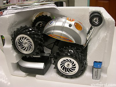rc turbo tumbler car