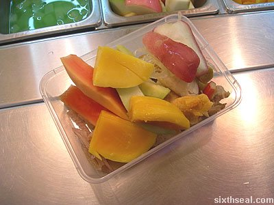 stone ice rojak selection