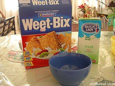 weet bix cereal