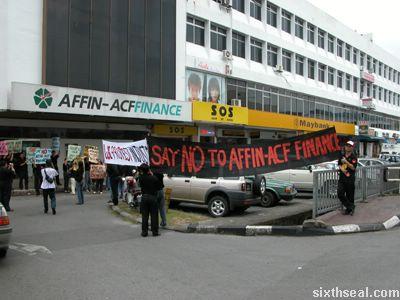 affin protest 1