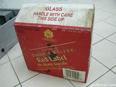 paradise gin jsrl box