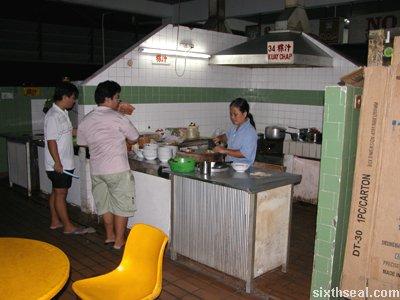 stall 34 kueh chap