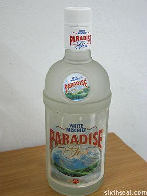 white mischief paradise gin