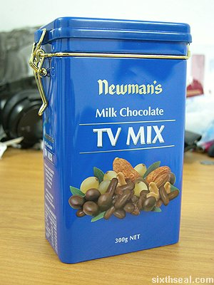 newmans tv mix choc