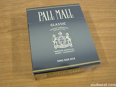pall mall classic box