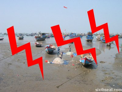 tsunami boats