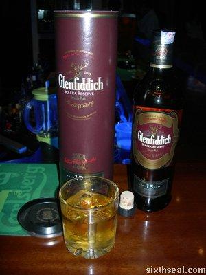 glenfiddich solera reserve drink