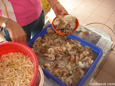 golden arch prawns