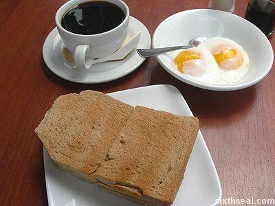 kaya toast full monty