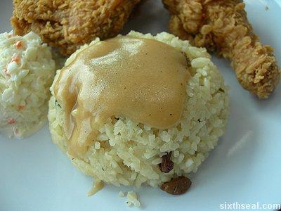 kfc colonel rice
