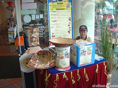 kfc colonel rice booth
