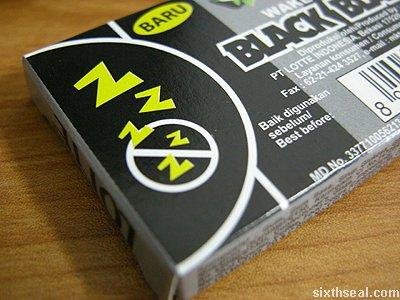 lotte black black zzz