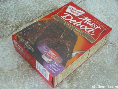 moist devils food