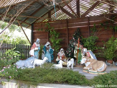 sc nativity scene