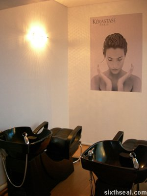 alan saloon hairwash