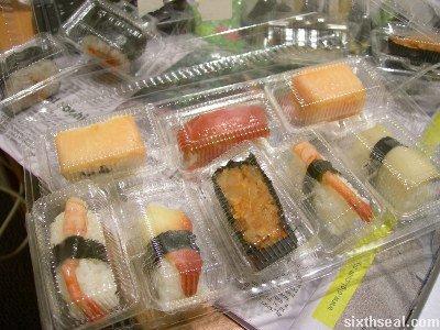 bargain sushi prime