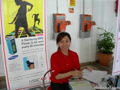 hsbc girl