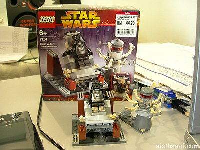 lego star wars desk