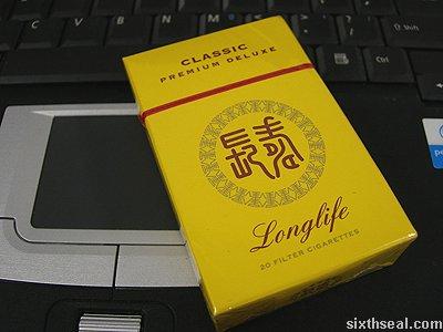 longlife cigarettes