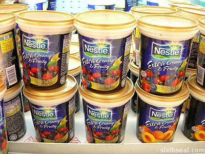 "nestle extra creamy yogurt range. Nestle came out with an ""Extra Creamy"