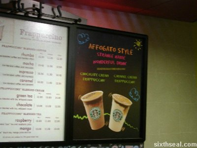 starbucks affogato promo