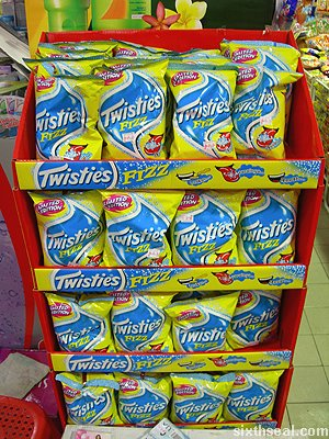 twisties fizz display