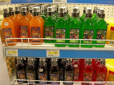 voodoo jelly drink supermarket