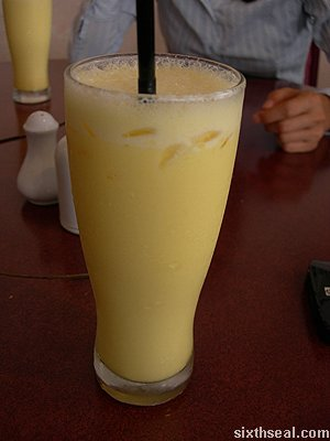 xun wei egg honey juice