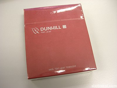 dunhill top leaf box