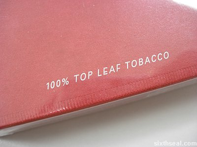 dunhill top leaf tobacco