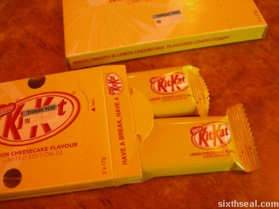 kitkat limited edition cheesecake bars