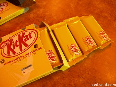 kitkat limited edition cheesecake end